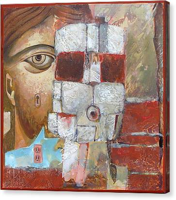 Face Behind Face Canvas Print