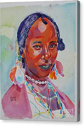 Canvas Print - Face From Sudan  2 by Mohamed Fadul
