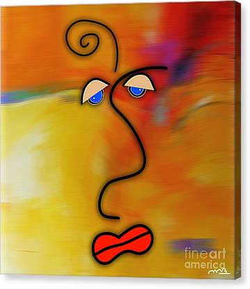 Green Canvas Print - Beauty Is In The Eye Of The Beholder by Marvin Blaine