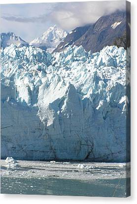 Face Of A Giant In Alaska Canvas Print