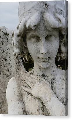 Face Of An Angel Canvas Print by Brian Jones