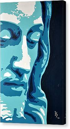 Face Of Greatness  Canvas Print by Ivan Guaderrama