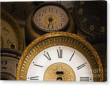 Face Of Time Canvas Print by Tom Gari Gallery-Three-Photography
