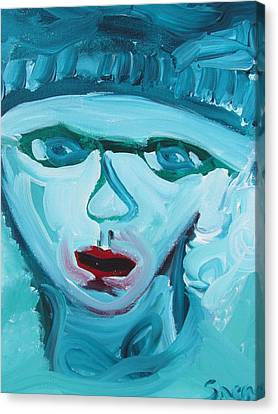 Face Two Canvas Print by Shea Holliman