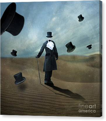 Sand Dunes Canvas Print - Faceless by Juli Scalzi