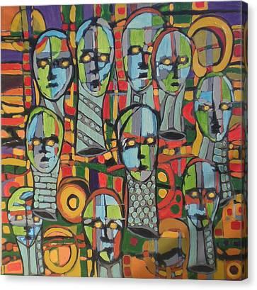 Faces #4 Canvas Print