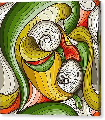 Monkey Pot Canvas Print by Don Kuing