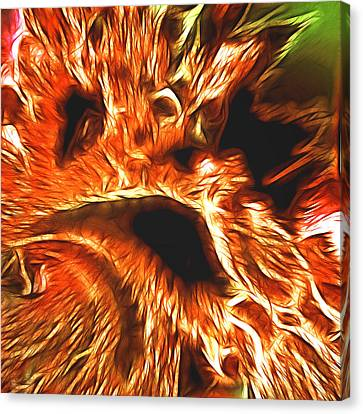 Faces From Hell Canvas Print by Sharon Lisa Clarke