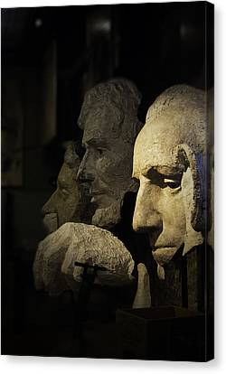 Faces Of Rushmore Canvas Print
