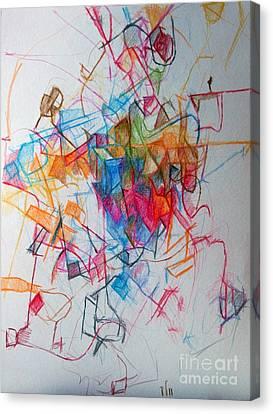 Tishrei 1 Canvas Print by David Baruch Wolk