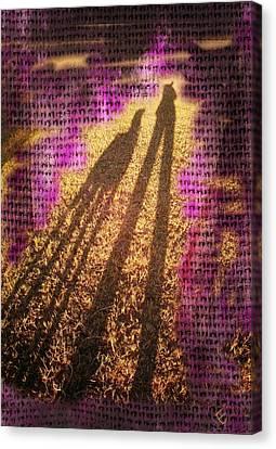 Facing The Sun Canvas Print by Ernestine Manowarda