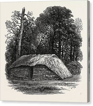 Facsimile Of The Hut Built For Dr. Livingstone To Die Canvas Print