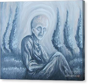 Canvas Print featuring the painting Fade Away by Michael  TMAD Finney
