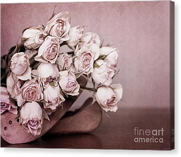 Flower Art Canvas Print - Fade Away by Priska Wettstein