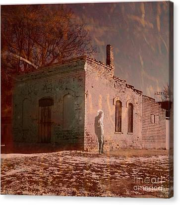 Faded Memories Canvas Print by Desiree Paquette