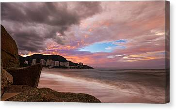Canvas Print - Fading Into The Clouds by Mario Legaspi