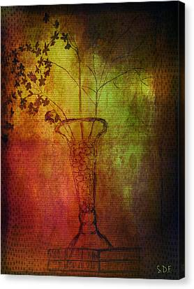 Fading Memory  Canvas Print