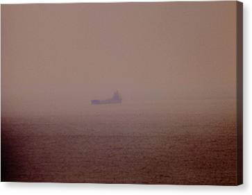 Fading Spector Of The Straits Canvas Print