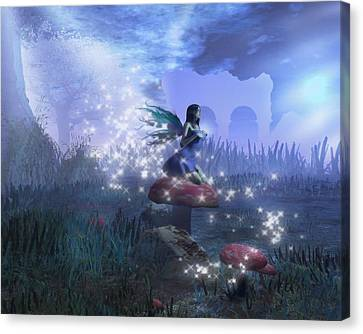 Faerie Canvas Print by David Mckinney