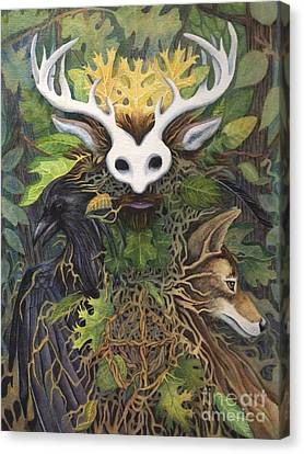 Faerie King Canvas Print by Antony Galbraith