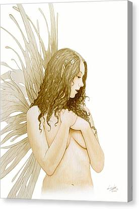 Faerie Portrait Canvas Print by John Silver