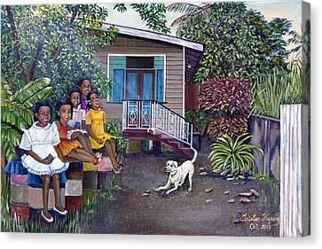 Fair Ladies Canvas Print by Trister Hosang