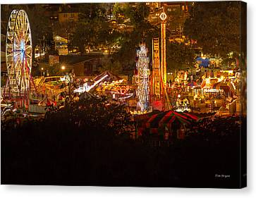 Fair Time In Paso Robles Canvas Print by Tim Bryan