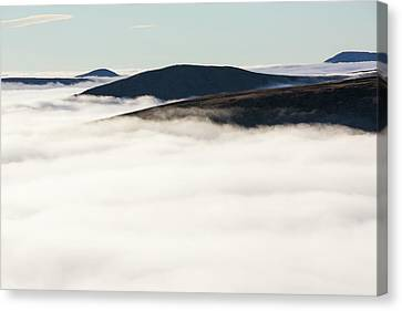 Fairfield From Red Screes Canvas Print by Ashley Cooper