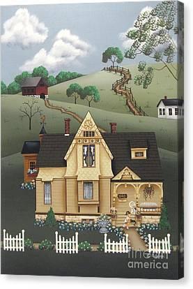 Fairhill Farm Canvas Print by Catherine Holman