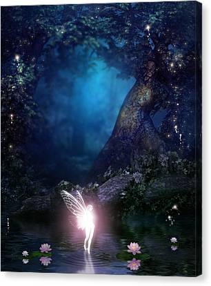 Fairie Canvas Print by David Griffith