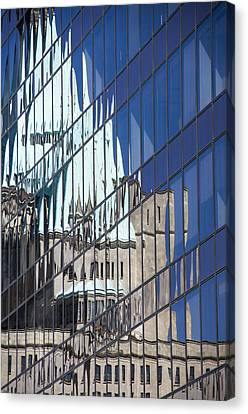 Fairmont Reflections Canvas Print by Ross G Strachan