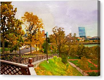 Fairmount View Canvas Print by Alice Gipson