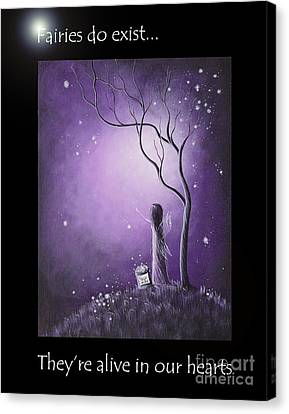 Fairy Art By Shawna Erback Canvas Print