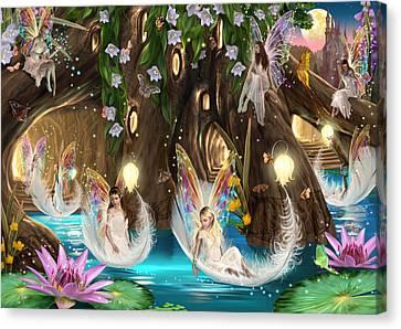 Fairy Ball Canvas Print by Garry Walton