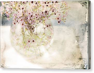 Fairy Bouquet Canvas Print by Theresa Tahara