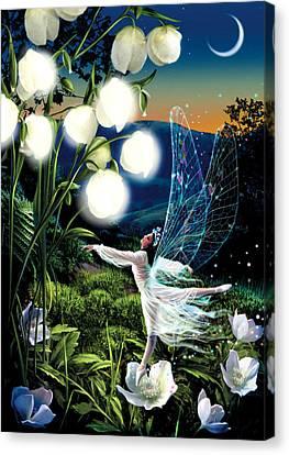 Fairy Dance Canvas Print by Garry Walton
