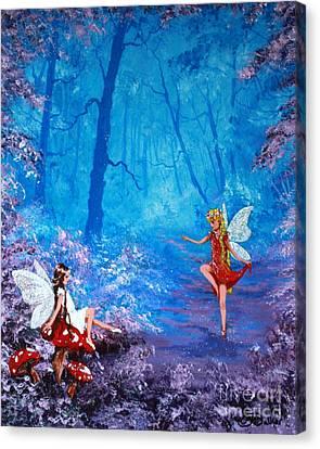 Fairy Dancer Canvas Print