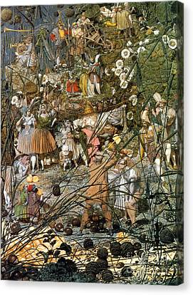Folkloric Canvas Print - Fairy Fellers Master-stroke by Photo Researchers