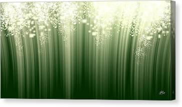 Fairy Grass Canvas Print by Lori Grimmett
