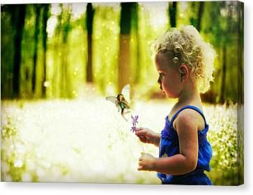 Fairy Hunting Canvas Print