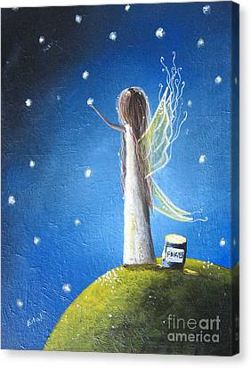 Fairy Maker By Shawna Erback Canvas Print by Shawna Erback