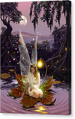Harmonious Canvas Print - Fairy Princess by Garry Walton