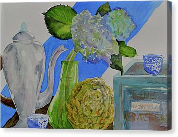 Canvas Print featuring the painting Fairy Soda Fine Crackers by Beverley Harper Tinsley