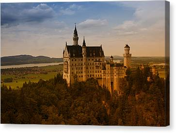 Fairy Tale Castle Canvas Print