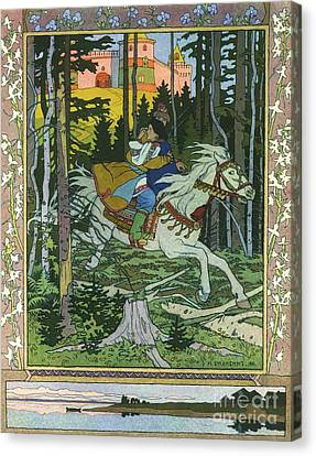 Fairy-tale Illustration  Canvas Print by Pg Reproductions
