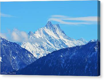Fairy Tale In Alps Canvas Print by Felicia Tica