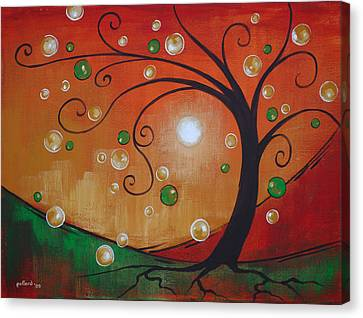 Fairy Tree Canvas Print