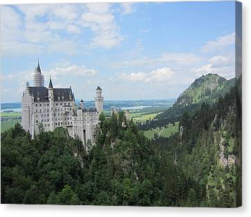 Fairytale Castle - 1 Canvas Print by Pema Hou