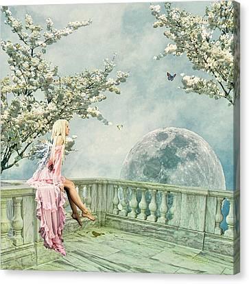 Fairytopia In Spring Canvas Print