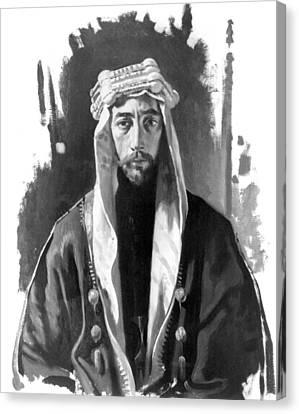 Faisal I (1883-1933) Canvas Print